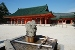 Kyoto Heian-jingu shrine dedicated to the 50th Emperor Kanmu